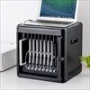 iPad・タブレット収納キャビネット(10台収納・USBハブ内蔵・充電・同期)