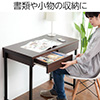 パソコンデスク(木製・幅90cm×奥行48cm×高さ72cm・引き出し付き・ワークデスク)