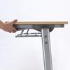 折りたたみテーブル・フォールディングデスク(メープル木目・W1800×D450)