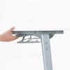 折りたたみテーブル フォールディングデスク ホワイト W1500×D450mm 選挙 選挙事務所 投開票所