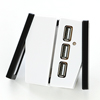ノートパソコンクーラー(USBハブ・角度調整機能付き・熱暴走対策)