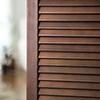 木製パーテーション(アジアン衝立・天然木使用・3連パーテーション・折りたたみ・高さ160cm)