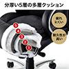 高耐荷重オフィスチェア(耐荷重200kg・レザー)