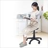 丸椅子(スツール・キャスター付き・高さ調節可能)