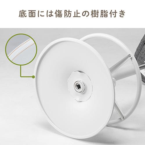 カウンターチェア(バーチェア・ハイスツール・上下昇降デスク・スタンディングデスク・高さ調整可能足置き・座面高さ65cm~78cm・ガス圧昇降式・360°回転・ベージュ)