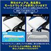 【ハロウィンセール】オットマン付きゲーミングチェア(ハイバック・バケットシート・160°・レッド)