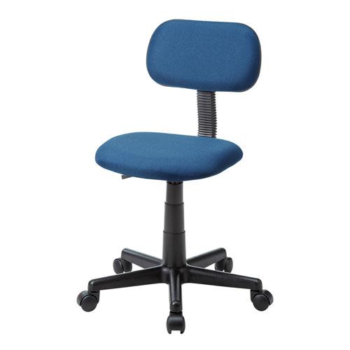 パソコンチェア(オフィスチェア・シンプル・ブルー)
