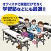 オフィスチェア(パソコンチェア・OAチェア・シンプルチェア・ライトグレー)