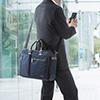 軽量 3WAYビジネスバッグ(通勤・自転車・A4収納・15.6型対応・ネイビー)