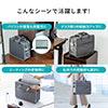 テレワークバッグ(そのまま持ち帰る・ボックス型・15.6インチ対応・在宅勤務・ノートパソコン持ち運びバッグ)