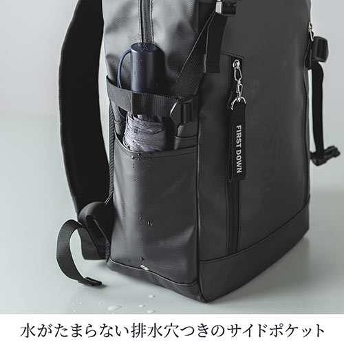 バックパック(リュック・メンズ・ビジネスリュック・A4・旅行・PCリュック・ファーストダウン・19L)