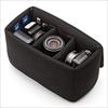 インナーカメラバッグ(ソフトクッションボックス・ワイドサイズ・ブラック)