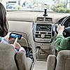 車の後部座席対応 USB充電器(7ポート・2.1A・2m)