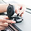 車載ホルダー(iPhone 12 mini/iPhone 12/iPhone 12 Pro/12 Pro Max・Androidスマートフォン対応・ダッシュボード取付・ゲル吸盤)