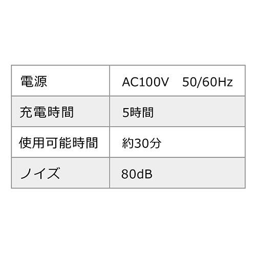電動エアダスター(充電式・2段階風量調整・逆さ対応・ガス不使用・ノズル付き)