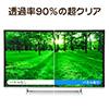 液晶テレビ保護パネル(55インチ対応・アクリル製)