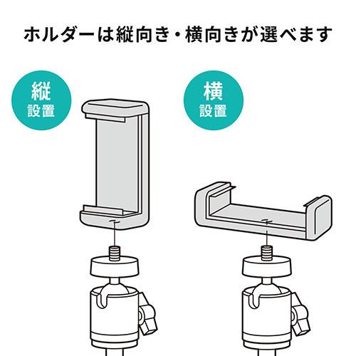 ウェブカメラ用クリップスタンド(固定・スマートフォン・iPhone・ウェブ会議・角度調整・高さ調整・クリップ・スマホホルダー)