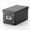 組立CD収納ボックス(30枚まで収納・ブラック)