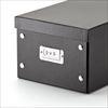 組立DVD収納ボックス(1箱あたり17枚まで収納・ブラック・3個セット)