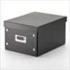 組立DVD収納ボックス(17枚まで収納・ブラック)