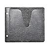 ブルーレイディスク対応不織布ケース(100枚入・リング2穴・両面収納・ブラック)