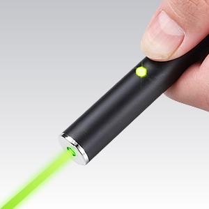【わけあり在庫処分】 USBグリーンレーザーポインター