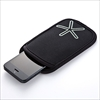 スマートフォンケース(スマートフォンポーチ・iPhone 5s・5c対応・ブラック)