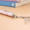 フラワータッチペン(iPhone5 スマートフォン対応・花柄ピンク)