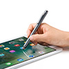 タッチペン(スマートフォン/タブレット・iPhone/iPad・導電繊維・スタイラスペン)