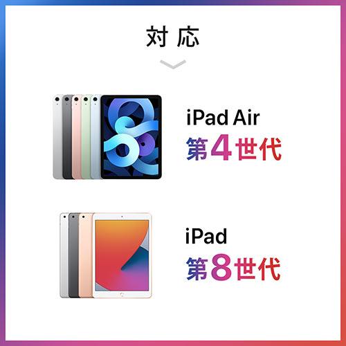 タブレット・iPadセキュリティワイヤー(10.5インチ/9.7インチiPad Pro・9.7インチiPad・iPad Air・mini対応・汎用タイプ・7インチ~10インチ対応・シルバー)