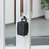 鍵収納BOX(プッシュボタン式・玄関・保管・受け渡し・ゴムカバー付き)
