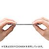 ブルーレイディスク対応不織布ケース(300枚入・両面収納・ホワイト)