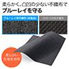 ブルーレイディスク対応不織布ケース(300枚入・リング2穴・両面収納・ホワイト)