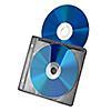 ブルーレイディスク対応不織布ケース(500枚入・リング2穴・両面収納・ブラック)