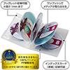 【10枚】DVDケース(8枚収納・トールケース・クリア)