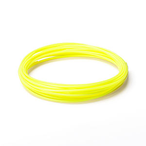 3Dプリンタ用フィラメント(ABS・黄色・10m・1本×5個入り)