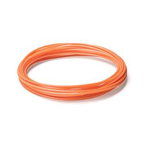 3Dプリンタ用フィラメント(PLA・オレンジ・10m・1本×5個入り)