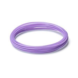 3Dプリンタ用フィラメント(PLA・紫・10m・1本×5個入り)