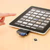 iPad用4in1カードリーダー(ブラック)