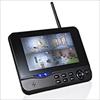 防犯カメラ用モニタ(400-CAM055/035専用モニタ・ワイヤレス・1台・7インチ・SD/USBメモリー接続対応・監視用モニタ)