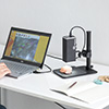 USBマイクロスコープ(高倍率・最大280倍・オートフォーカス・デジタル顕微鏡)