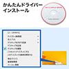 USB3.0 ドッキングステーション モバイルタイプ QWXGA(2048×1152)対応 4in1 HDMI USB3.0×3 テレワーク 在宅勤務