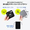 モバイルドッキングステーション 巻き取り USB Type-C PD100W対応 4K対応 8in1 HDMI VGA microSD&SDカード イーサネット