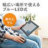 ワイヤレスマウス(ブルーLEDセンサー・充電式・Bluetooth4.0・コンパクト・ブラック)