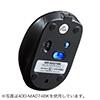 Bluetoothマウス(充電式・ブルーLED・Bluetooth4.0・レッド)