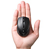 ワイヤレスマウス(Bluetooth3.0・レーザーセンサー・超小型・Android・DPI切替・ブラック)