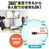 WEB会議マイクスピーカー(Skype対応・エコーキャンセル機能)