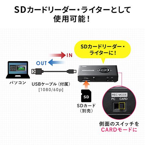 【オフィスアイテムセール】HDMIキャプチャー(Zoom・ビデオカメラをWEBカメラ化・ゲームキャプチャー・キャプチャーボード・ハンディカム・録画・4K・パススルー)