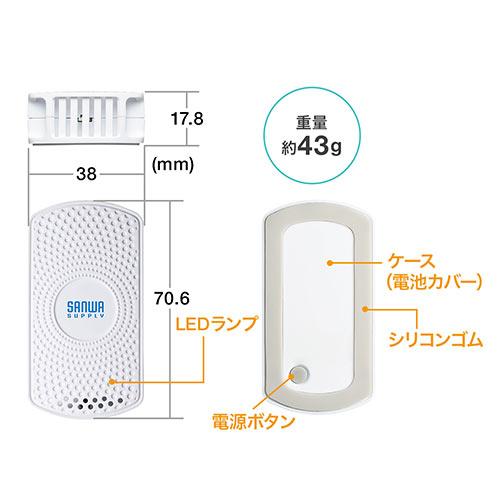 ビーコン(Bluetooth・BLE・温度・湿度センサー搭載・防塵・防滴・1個)
