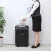 【オフィスアイテムセール】業務用シュレッダー(静音・ホッチキス対応・長時間&大容量・CD/DVD・カード対応)